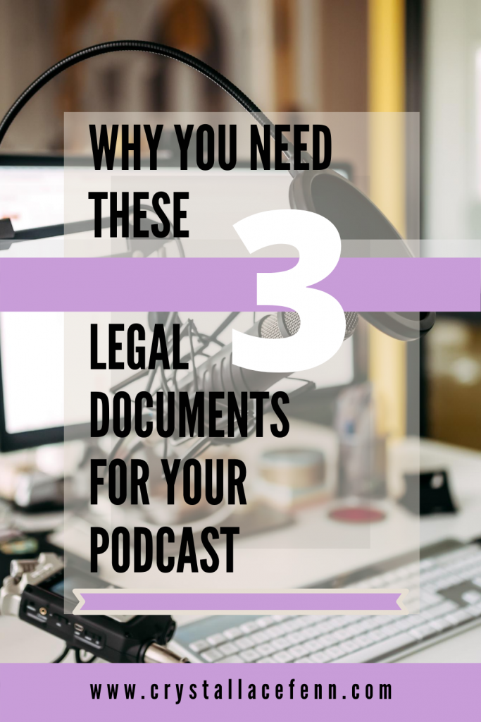 Why You Need These Important 3 Legal Contracts For Your Podcast