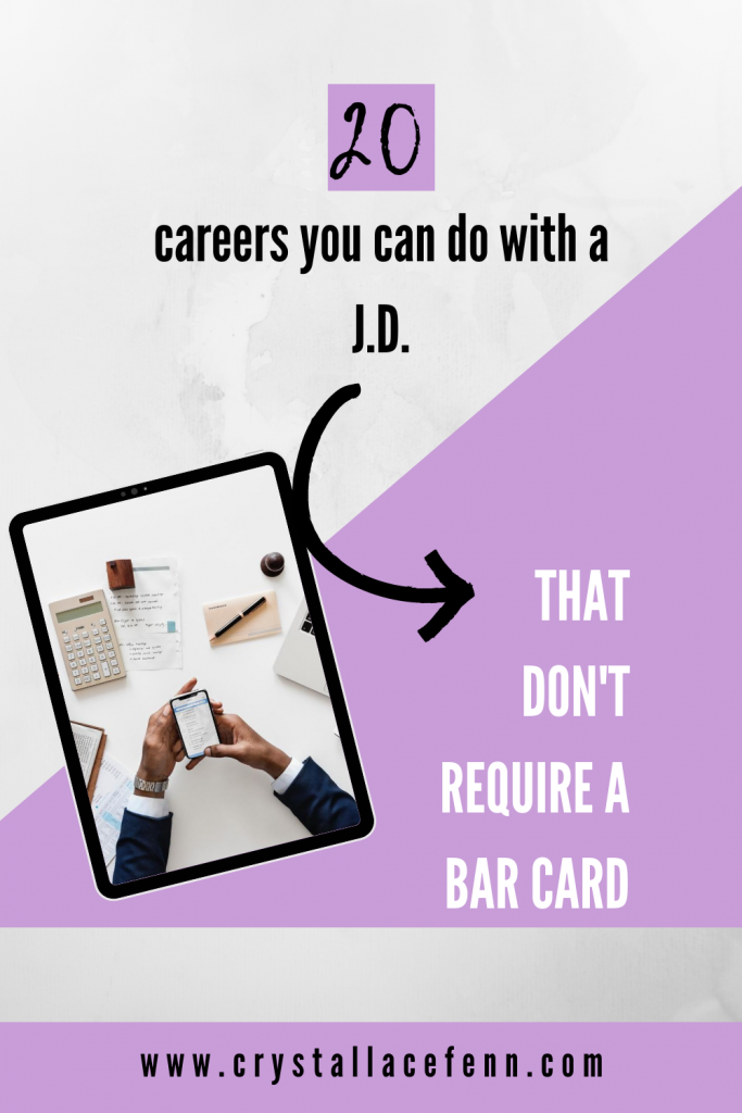 20 Careers You Can Do With a Law Degree.That Don't Require a Bar Card
