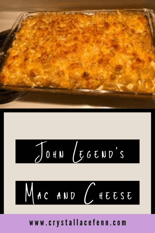Easy and Delicious John Legend Macaroni and Cheese