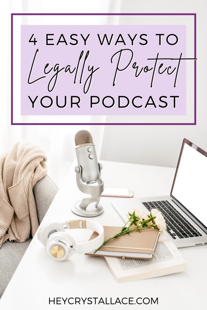 How to Protect Your Podcast