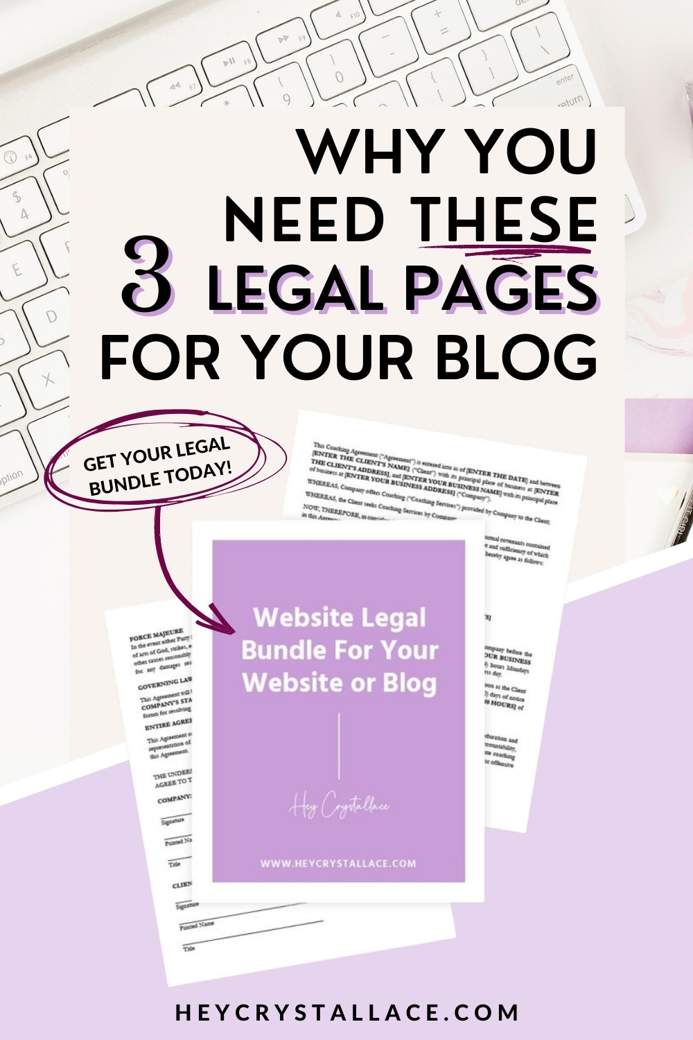 6 Reasons Why You Need These 3 Legal Pages for Your Blog
