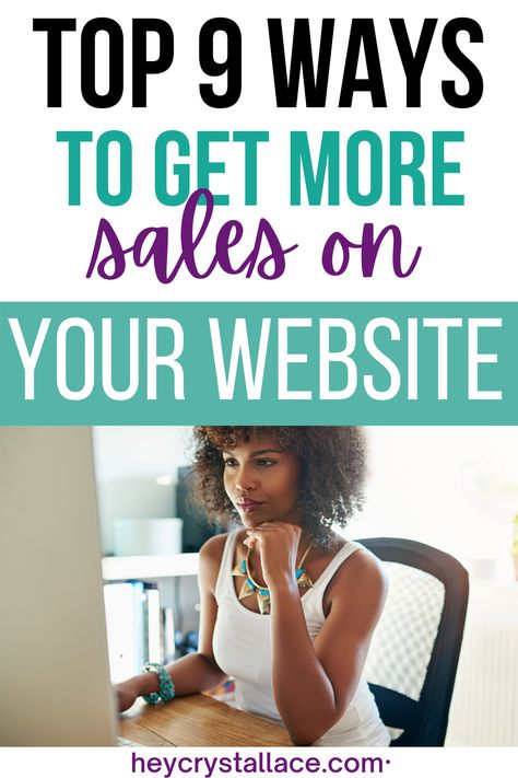 10 Easy Tips To Increase Sales On Your Website Now