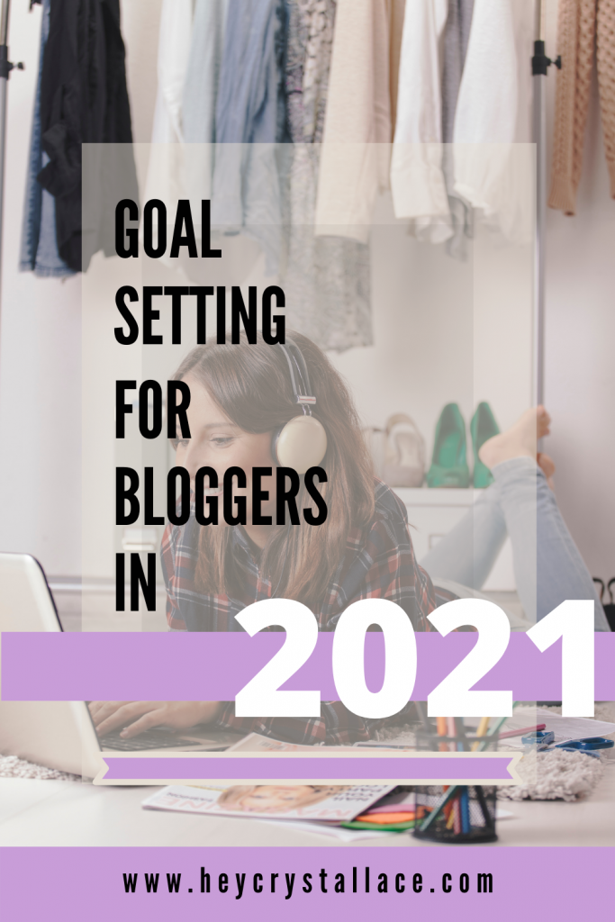 Blog Goal Setting for Bloggers in 2021