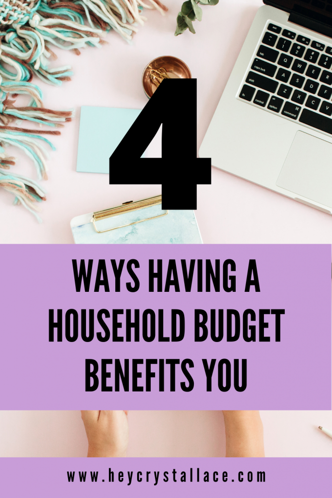 4 Ways Having a Household Budget Benefits You
