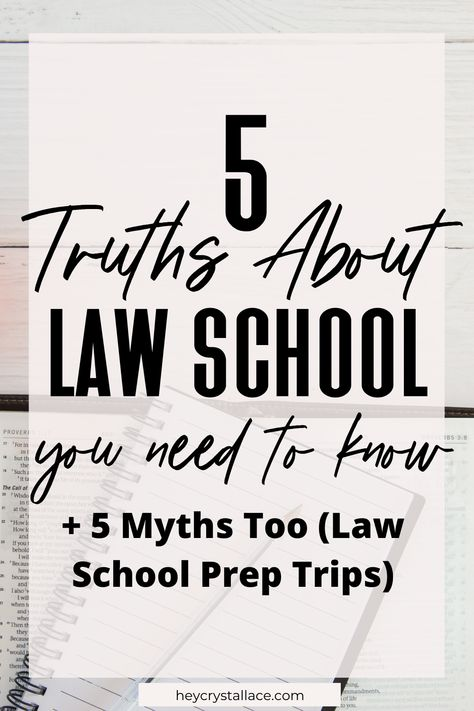 The Truth About Law School... Actually 5 Honest Truths About Law School