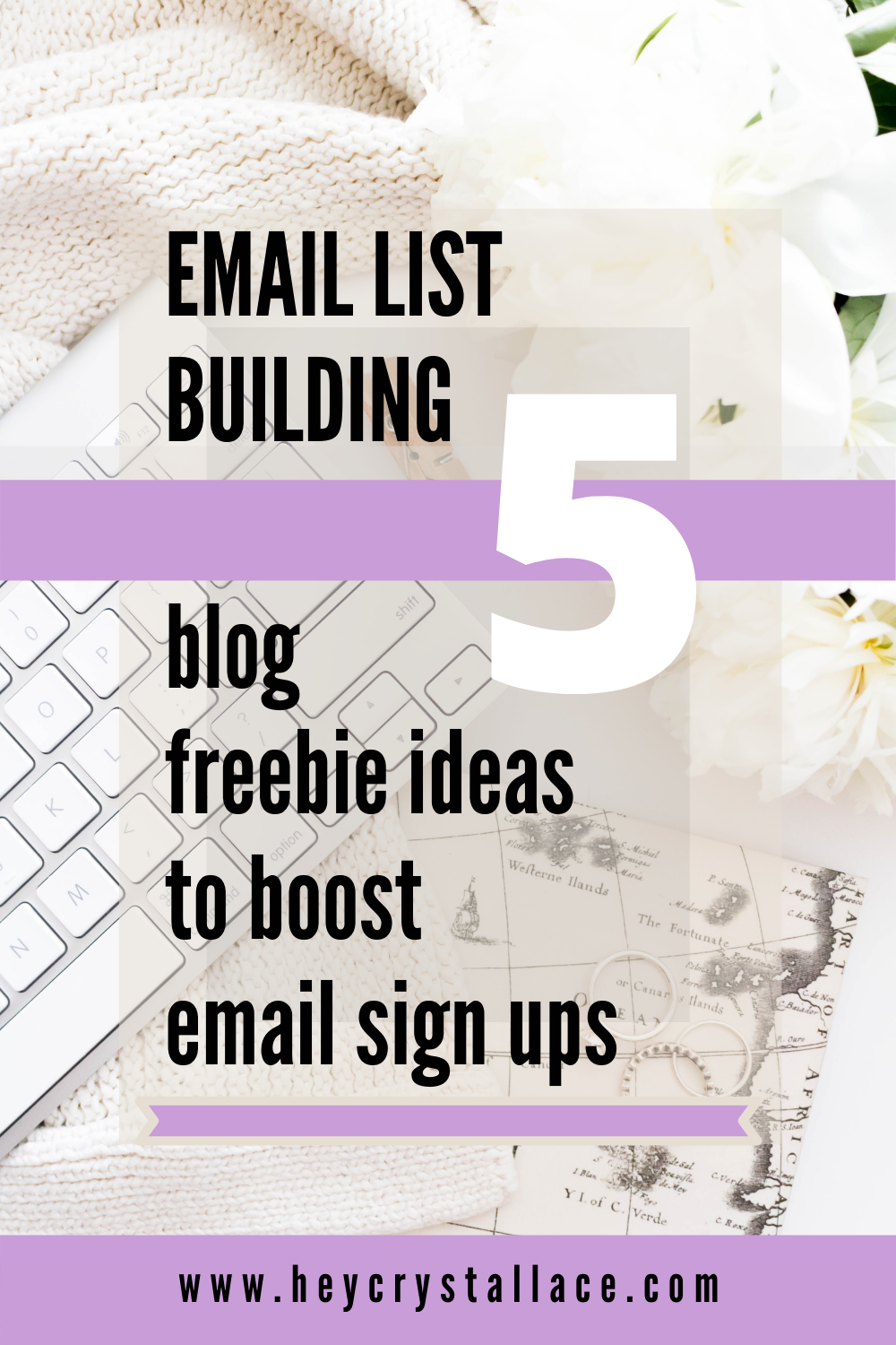 Email list building: 5 Blog Freebie Ideas to Boost Email Sign-ups