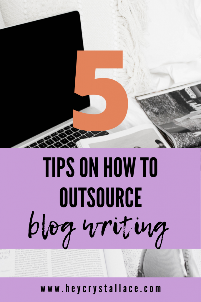 5 Tips On How to Outsource Blog Writing... the Stress Free Way