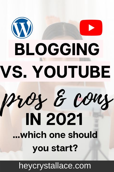 Blogging vs Youtube Which one has more potential in 2021?